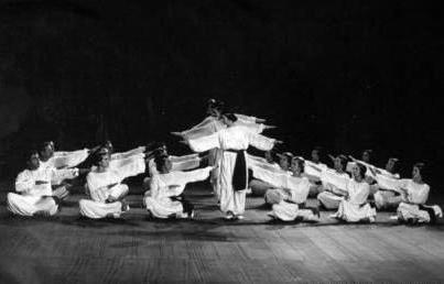 danze sacre foto d'epoca